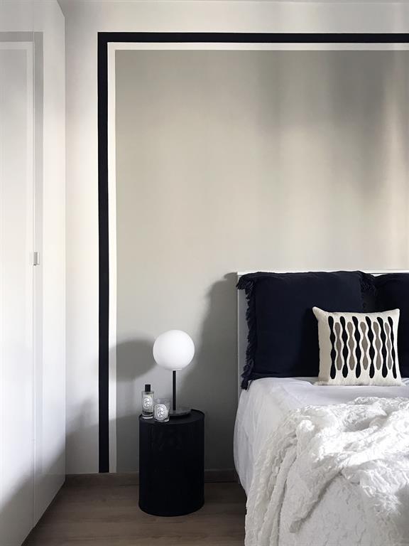 Rénovation d'un Appartement à Lyon - Agencement et Décoration - Chambre