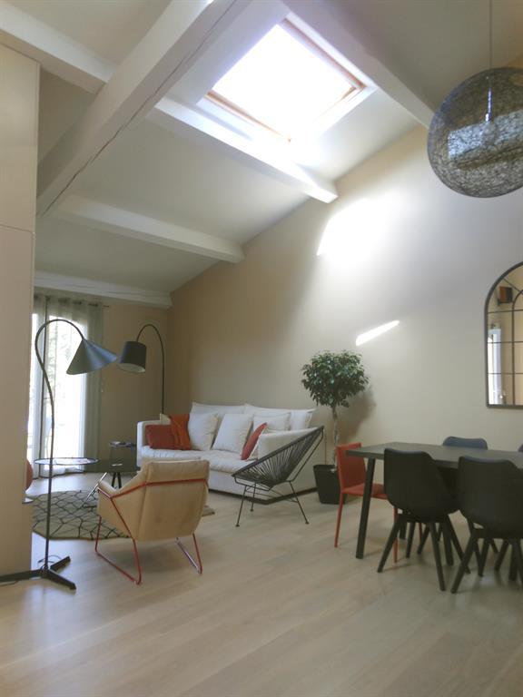 Pi ce vivre en double hauteur sophie bannwart photo n 56 for Architecture a vivre