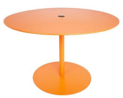 Table FormiTable XL / Métal - Ø 120 cm - Fatboy orange