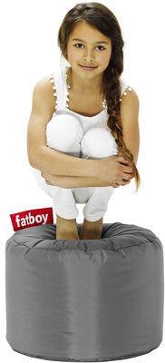 Pouf Point - Fatboy Ø 50 x H 35 cm gris foncé