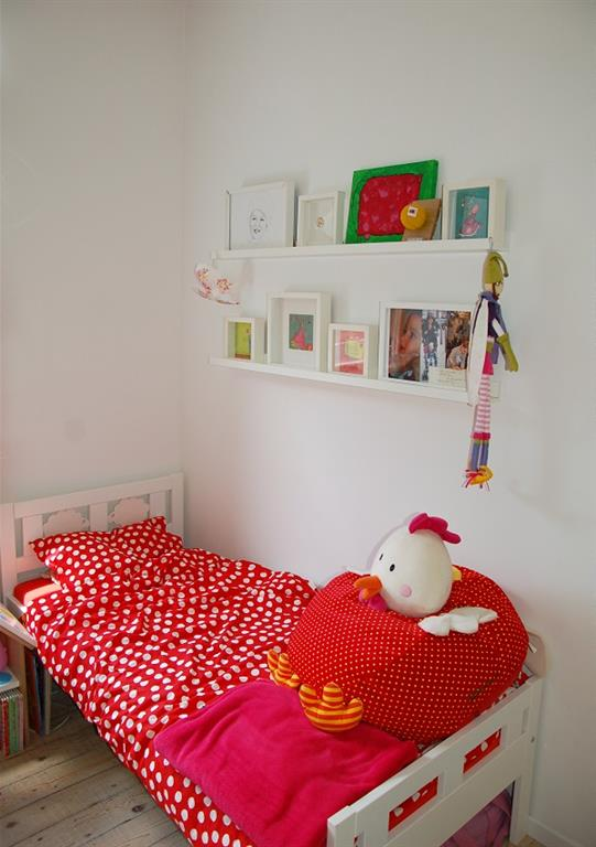Chambre d\'enfant rouge et blanche Kioub photo n°75