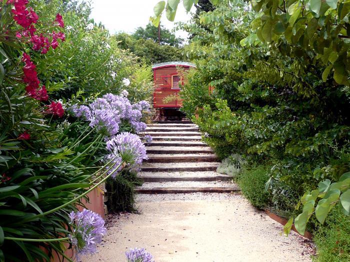 Jardins for Jardin avec escalier