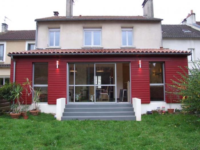 Restructuration extension d 39 une maison for Extension maison avec une tour