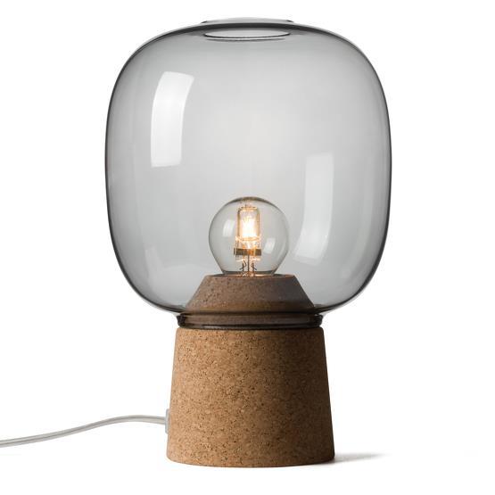 Lampe à poser gris fumé Picia - Enrico Zanolla