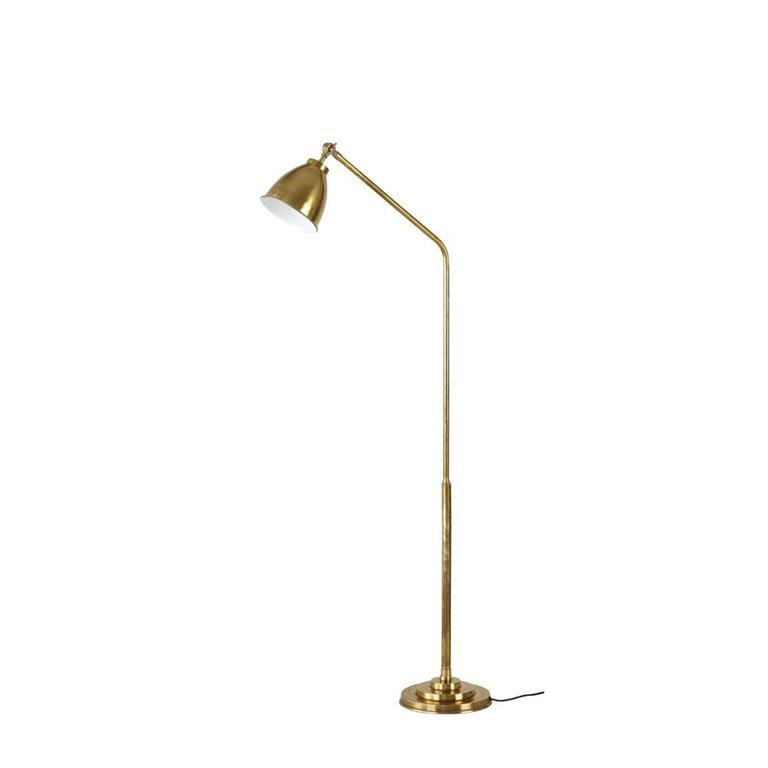 Lampadaire articulé en métal doré H149