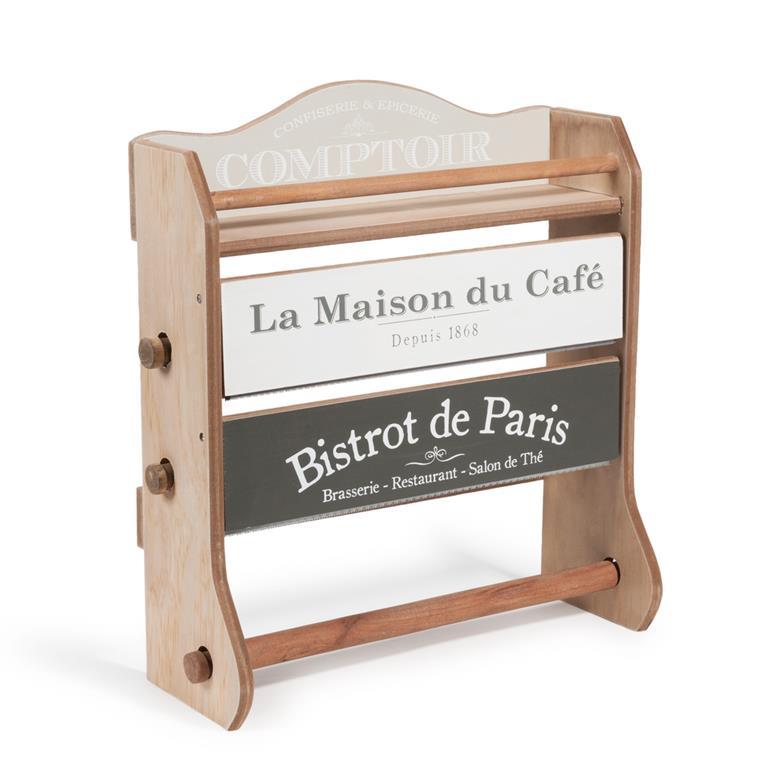 Étagère dérouleur mural H 37 cm MAISON DU CAFÉ