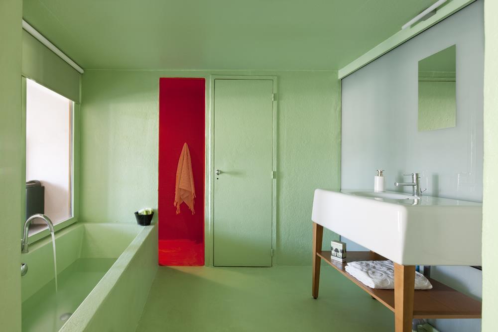 Salle de bain en résine