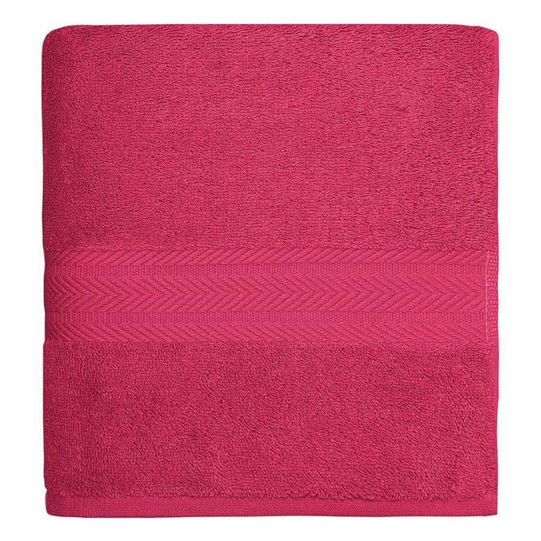 Drap de bain 550gr/m²  Rose Indien 70x140 cm