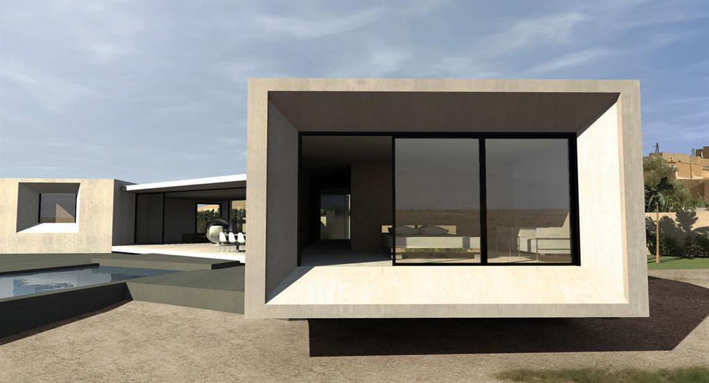 Terrasse dans le prolongement du séjour Jean-Yves Arrivetz