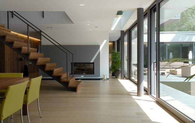 Lhermitte Architecture · Descente Du0027escalier Face Au Jardin