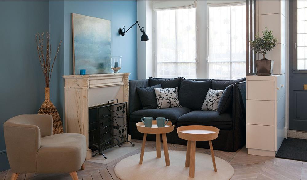 comment donner du volume et du style un petit salon - Idee Deco Salon Petite Surface