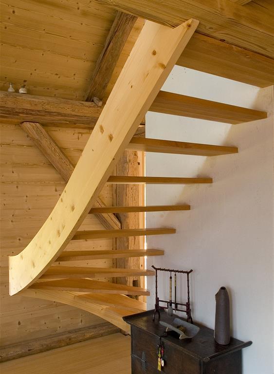Image Escalier d'accès à la mezzanine Vincent GUILLO   architecte d'intérieur