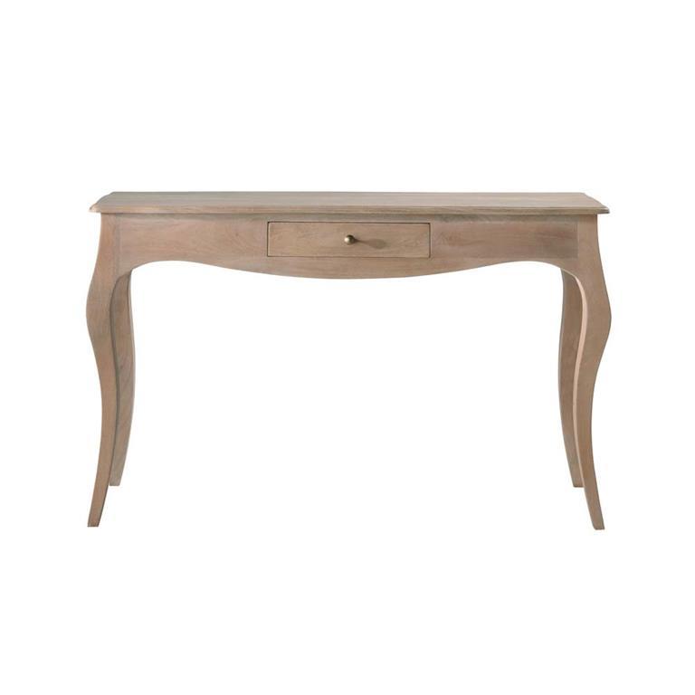 Table console en manguier et acacia