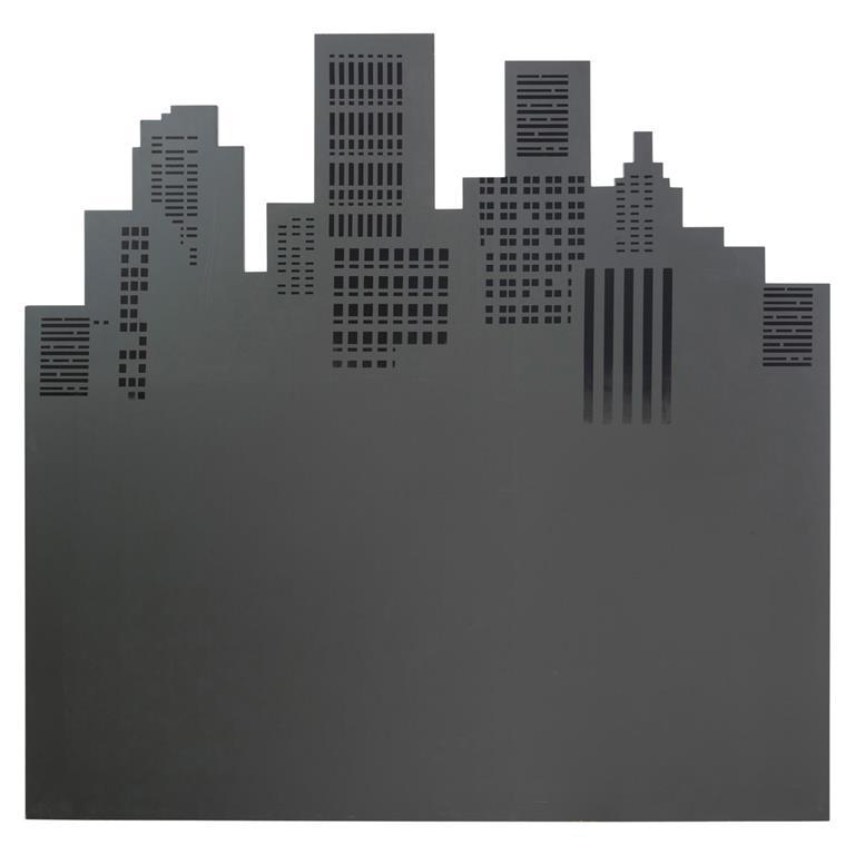 Tête de lit 140 grise Skywalk