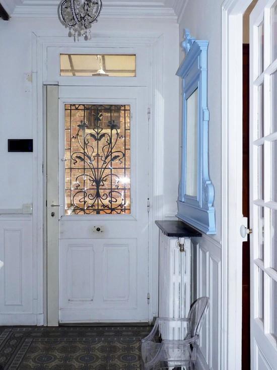 carrelage ancien dans l 39 entr e nuance d 39 int rieur photo n 29. Black Bedroom Furniture Sets. Home Design Ideas
