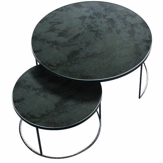 2 Tables basses charbon Nesting Coffee - Notre Monde