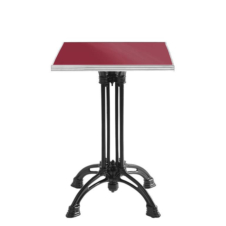table de bistrot maill e 39 tradition bistrot 39 ardamez. Black Bedroom Furniture Sets. Home Design Ideas