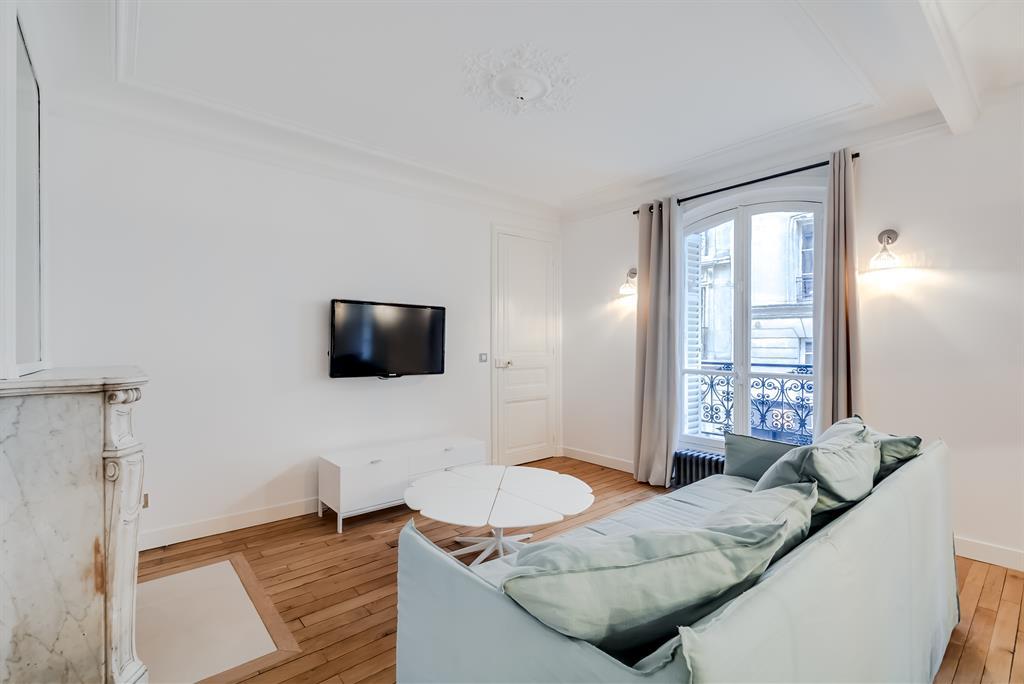 Appartement locatif saisonnier La cloison magnifique le coin salon