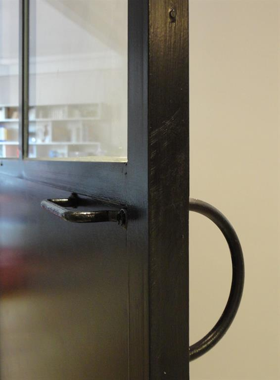 Fen tre sur cuisine for Porte cuisine laquee