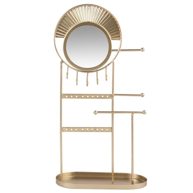 Porte-bijoux en métal doré Maisons du monde Ref 195233