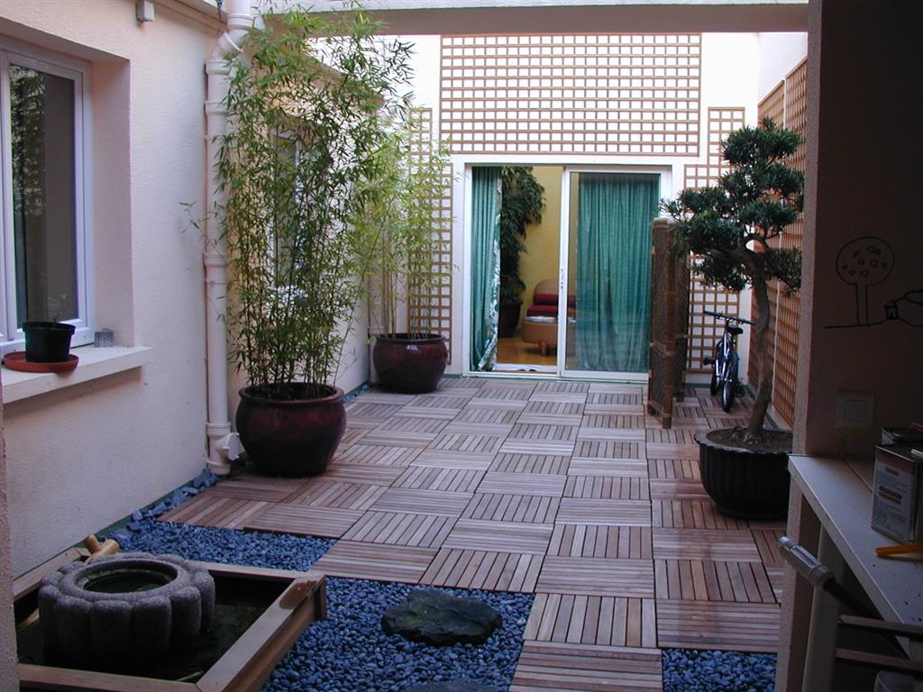 Jardins for Couvrir une cour interieure