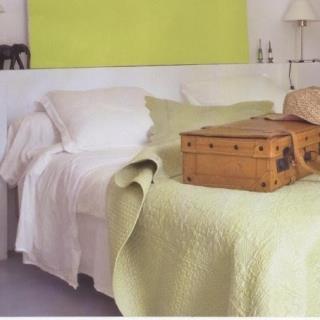 Chambre blanche et jaune Luka Deco Design photo n°17