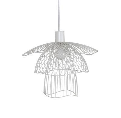 Suspension Papillon XS / Ø 30 cm - Forestier blanc en métal