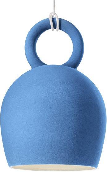 Suspension en céramique bleue Caló 40 - Pott