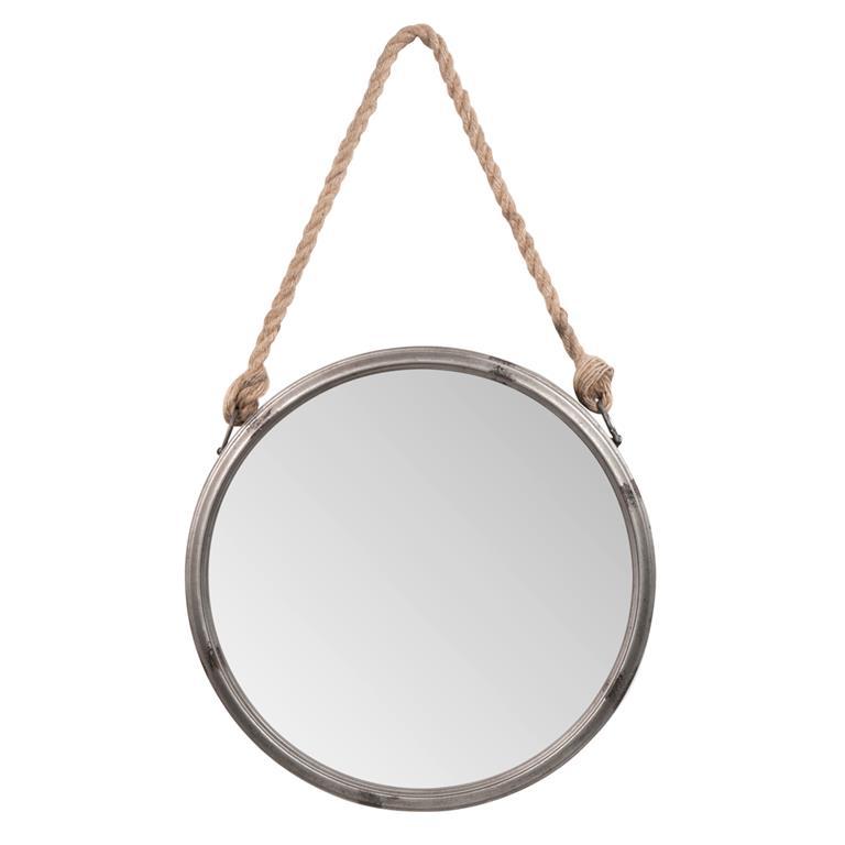 Miroir en métal H 64 cm LARMOR