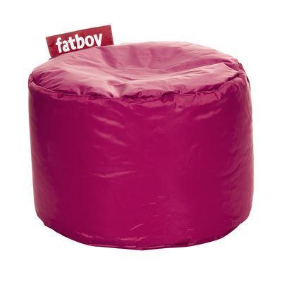 Pouf Point - Fatboy Ø 50 x H 35 cm rose en tissu