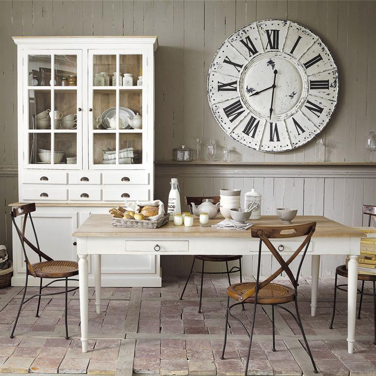 chaise crois e en bois de sheesham et fer forg luberon. Black Bedroom Furniture Sets. Home Design Ideas