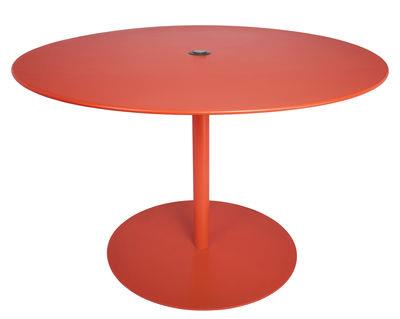 Table FormiTable XL / Métal - Ø 120 cm - Fatboy rouge