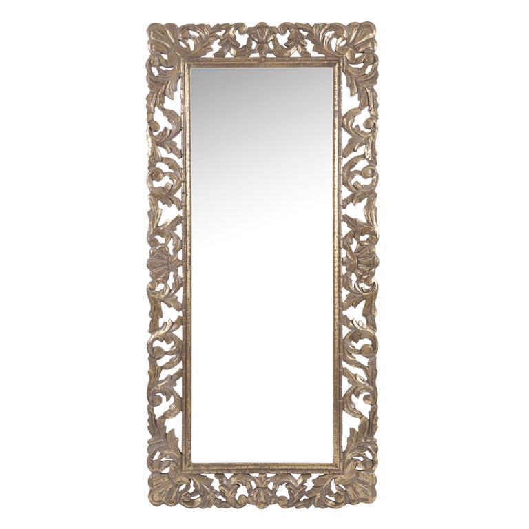 Miroir en bois sculpté H 116 cm KIARAN