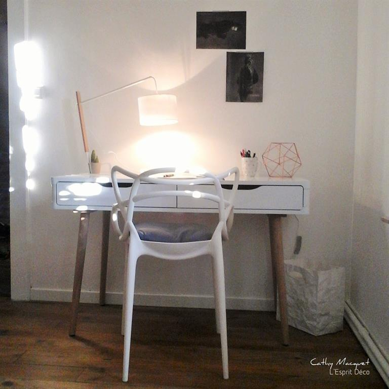 Bureau blanc simple et pratique Cathy Macquet photo n69