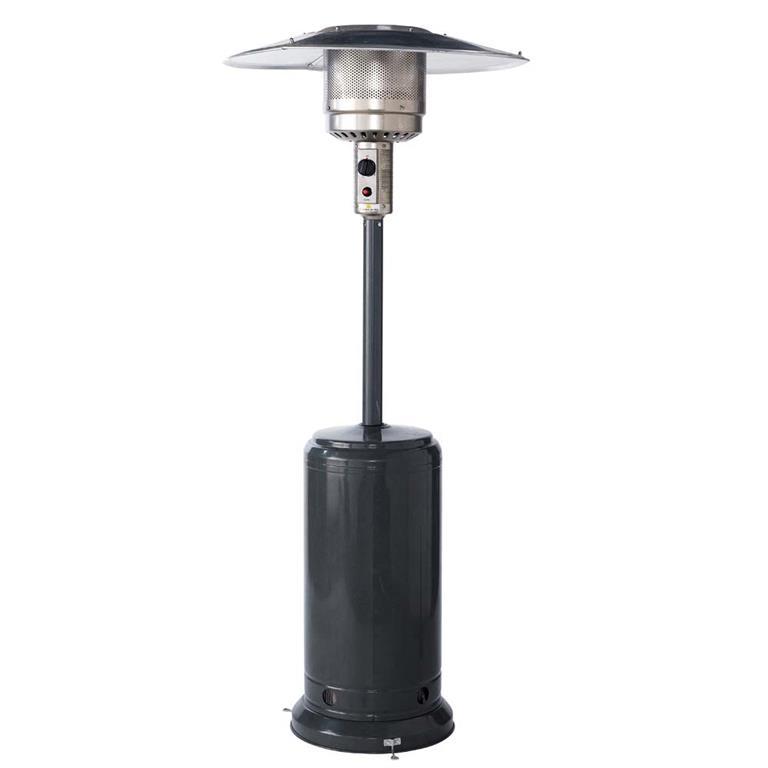 Parasol chauffant de terrasse en métal