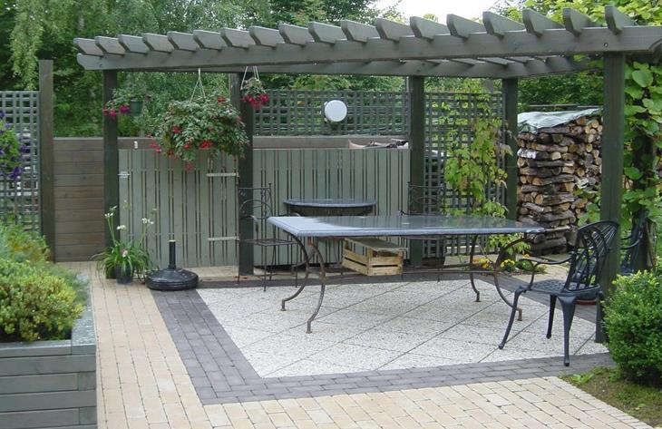 Terrasse Avec Pergola En Bois Bolly Beckers Sprl Photo N 93