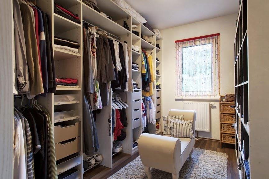 Dressing avec banquette maisons elk photo n 07 domozoom - Dressing en longueur ...