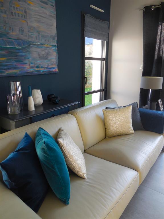 Salon bleu et gris scenesdinterieur photo n°68 - Domozoom
