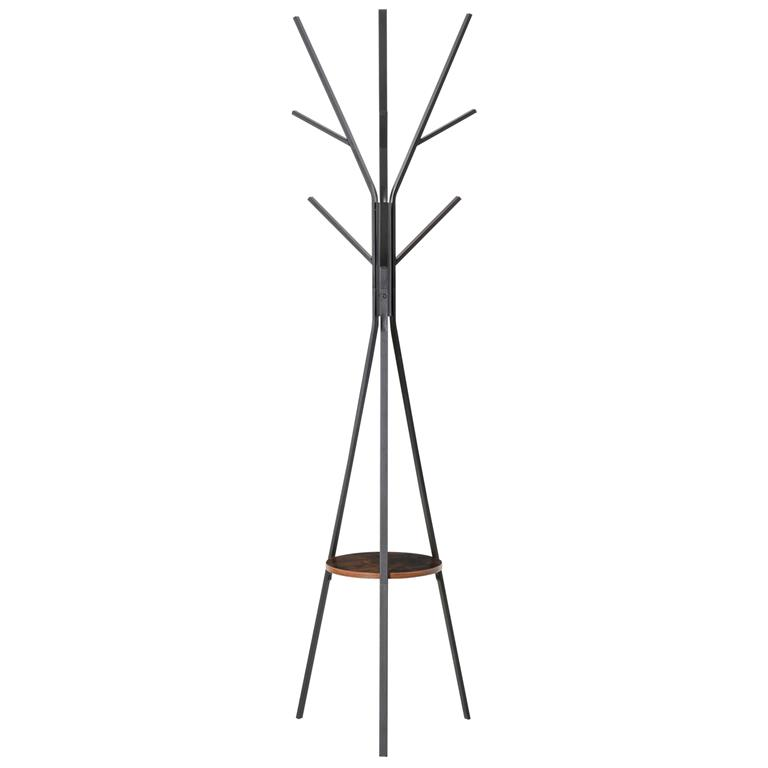 Porte-manteau design branches marron