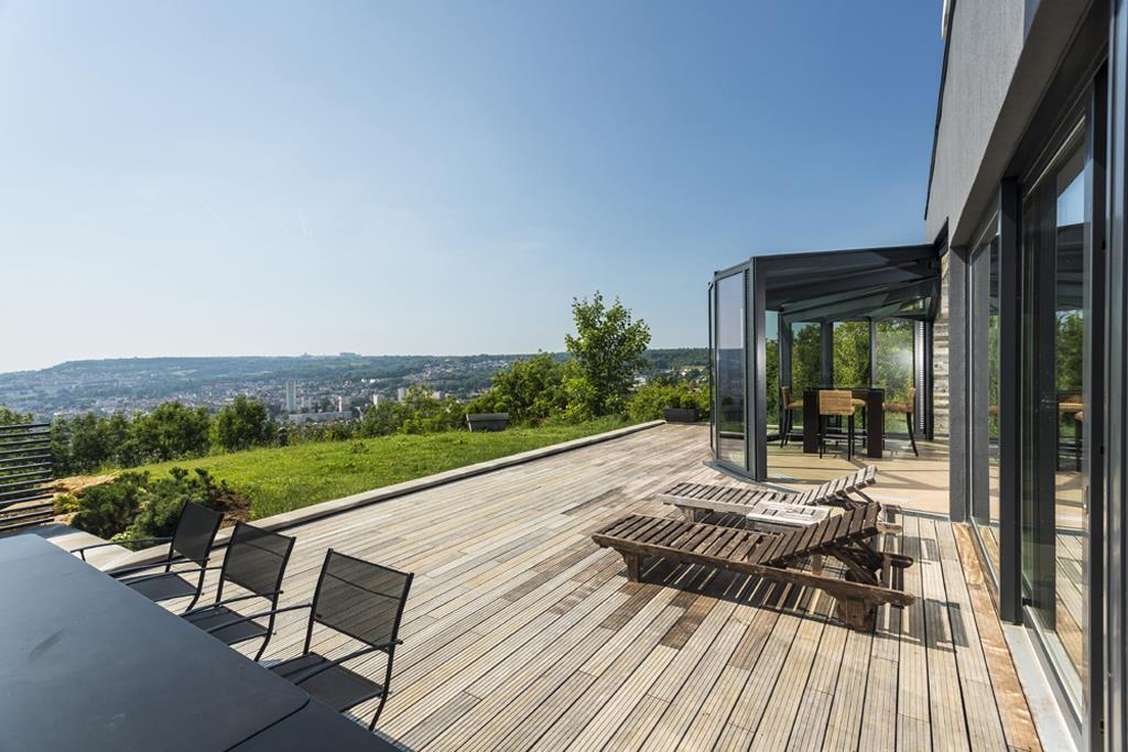Am nager une terrasse en bois par marion arnoud loherst - Idee veranda terrasse ...