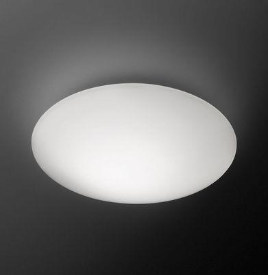 Applique Puck LED / Plafonnier - Ø 16 cm - Vibia blanc