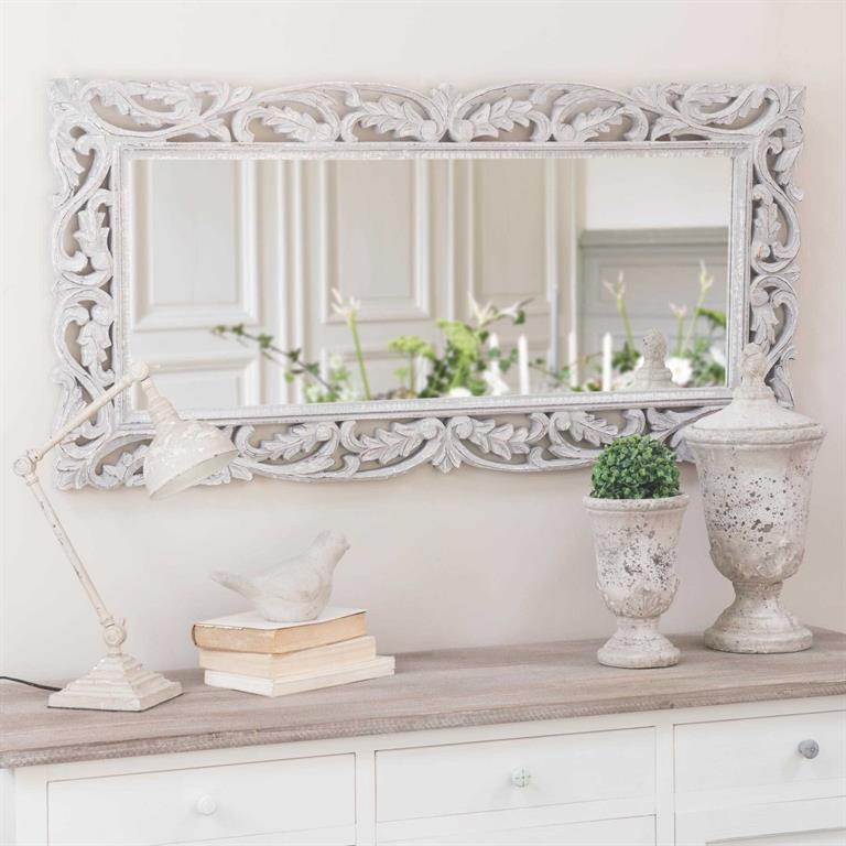 Miroir gris Louise
