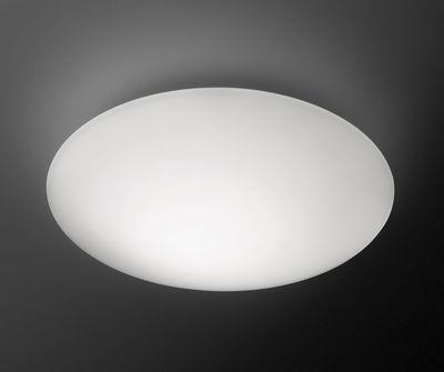 Applique Puck LED / Plafonnier - Ø 27 cm - Vibia blanc