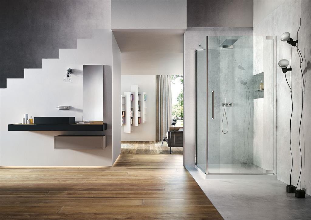 Nouveau cabine de douche avec porte pivotante vismaravetro Porte cabine de douche