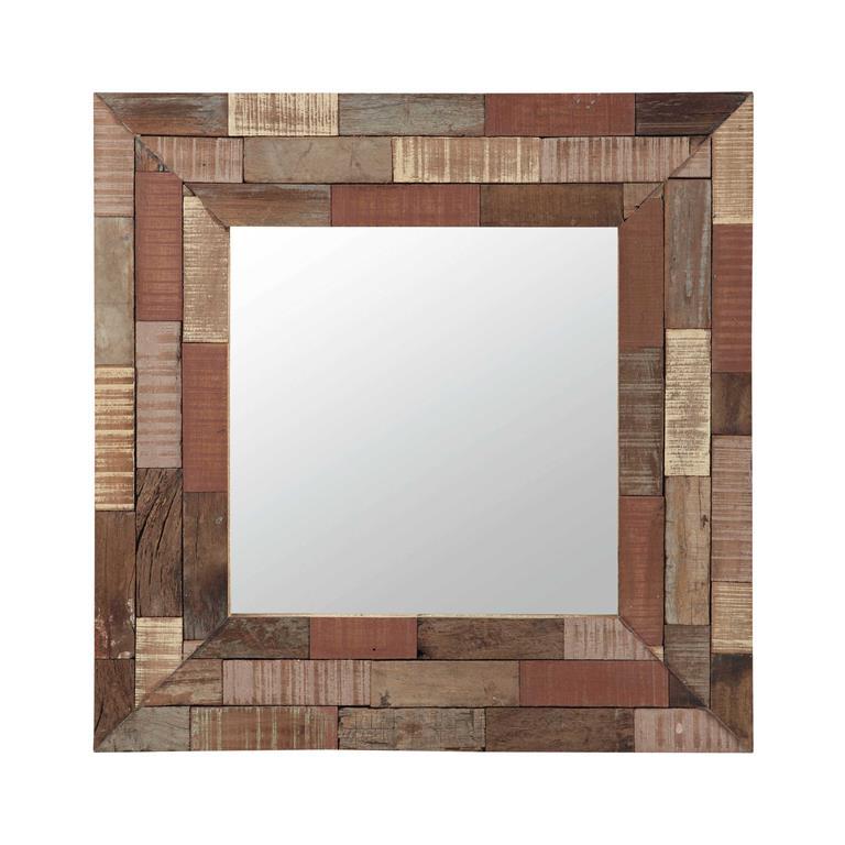 Miroir en bois multicolore H 75 cm JAIPUR