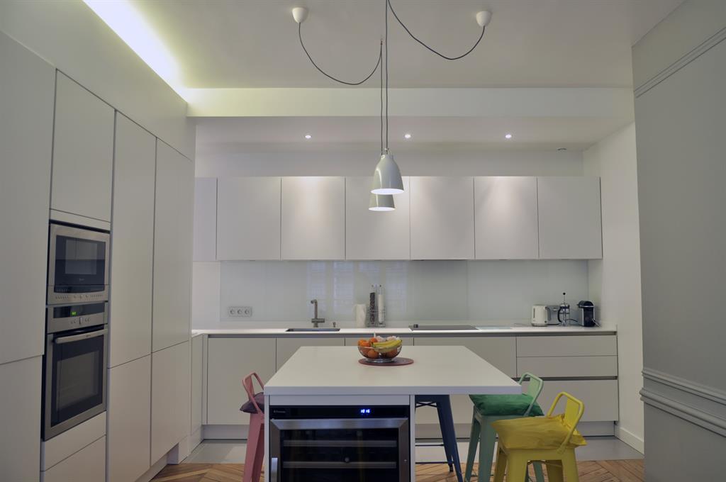 Image Cuisine esprit loft contemporain TNT ARCHITECTURE