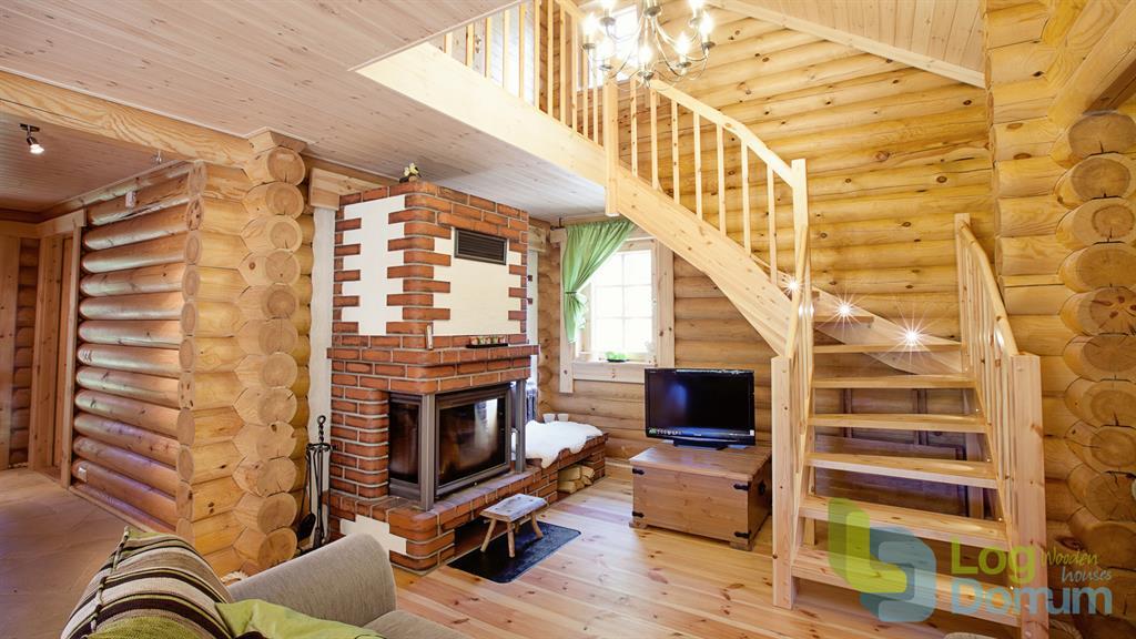 Salon moderne en bois palmatin ou photo n 35 domozoom for Salon moderne en bois