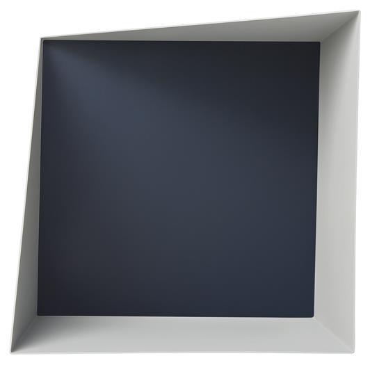Etagère Wall Box Gris & Bleu - Please Wait to be Seated