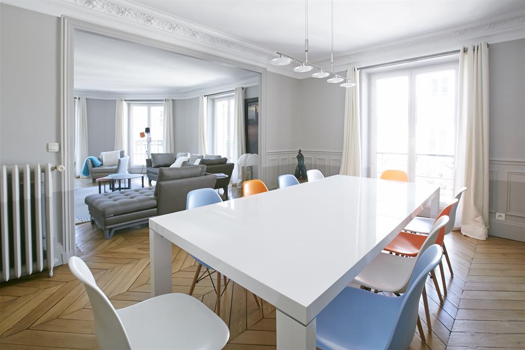 Image Salle à manger ouverte sur salon bertille bosset