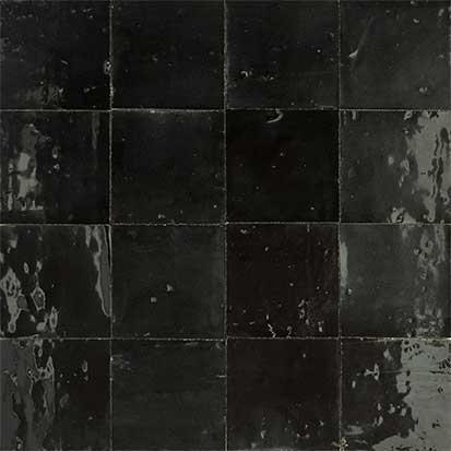 Zellige noirs MOSAIC DEL SUR Ref 1020 - Domozoom